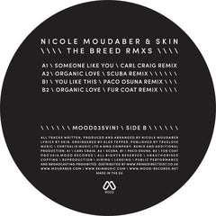 "NICOLE MOUDABER & SKIN - 'BREED THE RMXS' 12"" VINYL - PART 1"