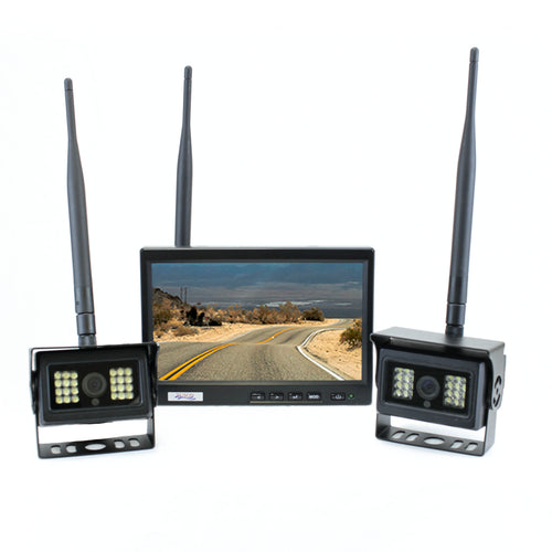RF Wireless Dual Backup Camera System (RFCAM1200B)