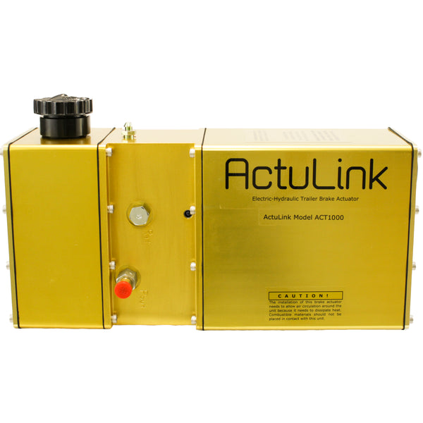 ActuLink Electric-Hydraulic Actuator for Drum Brakes - 1,000 psi (ACT-1000)