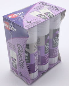 Avery Purple Disappearing Glue stick(6 pack)