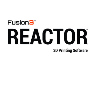 REACTOR 3D Printing Software - EDU License (1 EDU License, Installable on up to 2 eligible PCs)