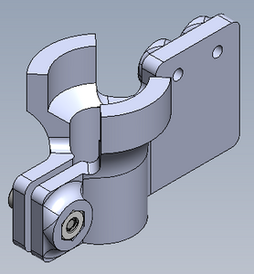 F400/F410 Z Axis Switch Bracket (requires limit switch)