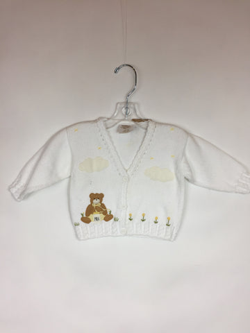 Victoria Kids Knit Bear Sweater Size 3-6 Months NEW - Seesaw4kids