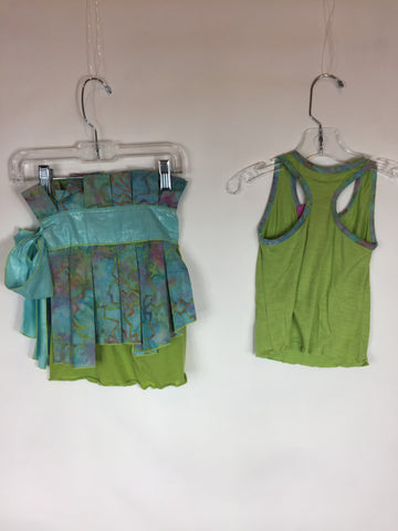 Lollipop Tots Tank Top And Skirt Set Size 2T - Seesaw4kids