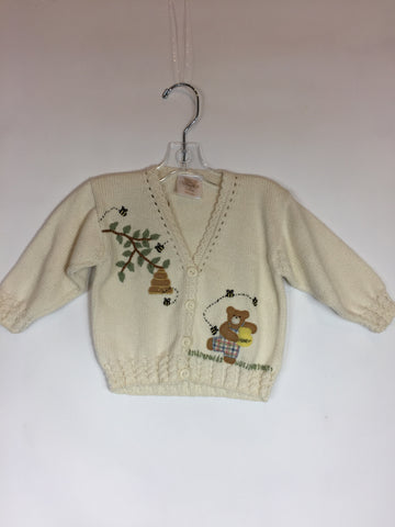 Victoria Kids Honey Bear knit Sweater Size 6-12 Months - Seesaw4kids