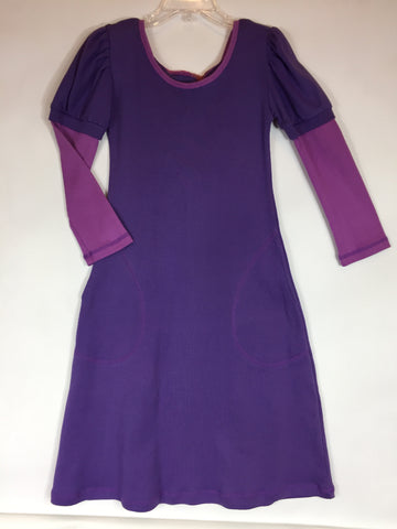 Lollipop Tots Hooded Dress Purple Size 6 - Seesaw4kids
