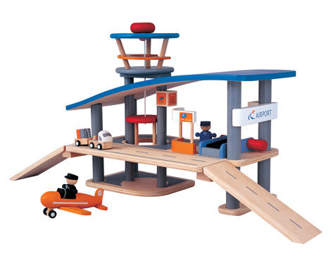 Plan Toys Airport - Seesaw4kids