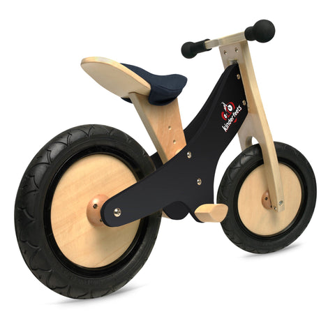 Kinderfeets Classic Toddler Push Bike 6 Colors With Chalkboard Finish - Seesaw4kids