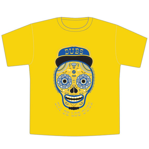 Día de los Muertos Golden State Warriors Toddler T-Shirt - Seesaw4kids
