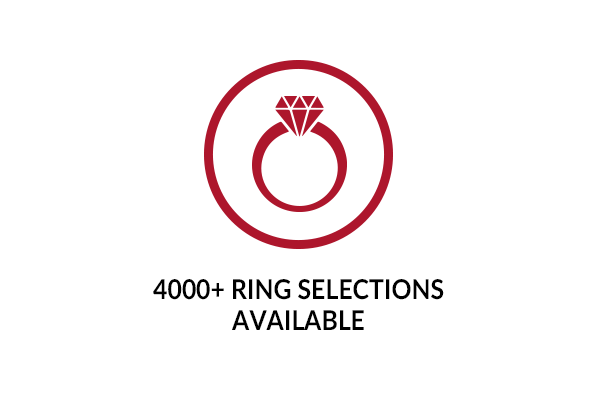 4000+ Rings to Choose From