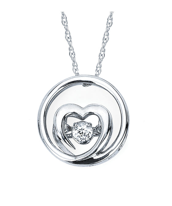 Ostbye - Sterling Silver Heart Pendant