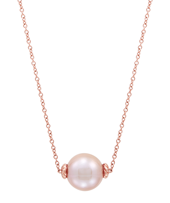 Honora 14K Rose Gold Ming Pearl Necklace