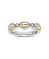 Charles Krypell 18K Gold & Sterling Silver Two-Tone Ring