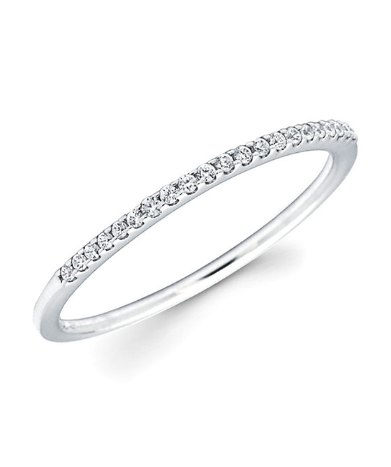 Ostbye - 14K White Gold Diamond Band