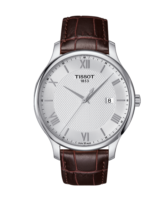 Tissot Tradition Brown Leather Band