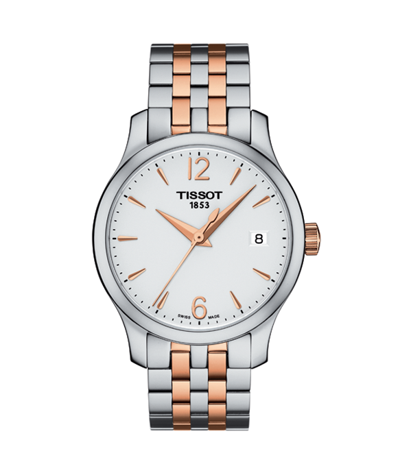 Ladies' Tissot Tradition Lady Two-Tone Watch