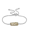 Charles Krypell 18K Gold & Sterling Silver Ivy Lace Two-Tone Bolo Bracelet