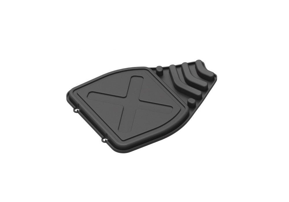 EPIKGO Rubber Foot Mat - Black (2 Pack)