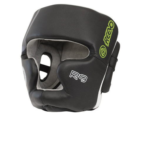 Reevo R9 Sentinel MMA Headgear Black