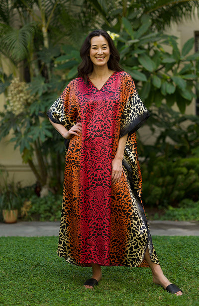 Lilias Long Caftan