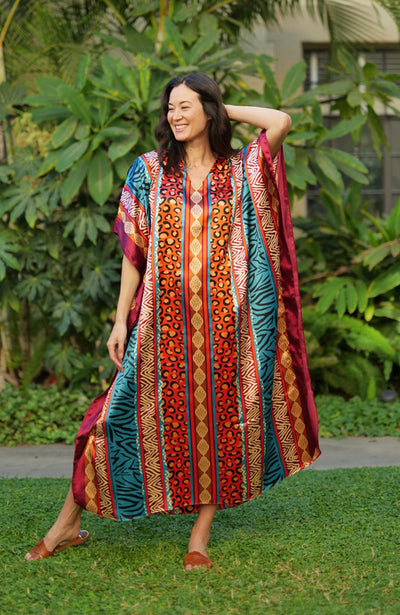 Saffron Long Caftan