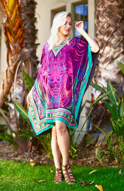 Carly Short Caftan