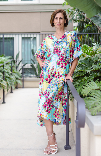 Crystal Long Caftan