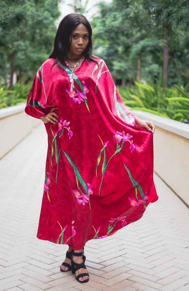 Scarlet Long Caftan