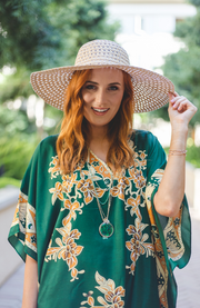 Taylor Long Caftan- Green