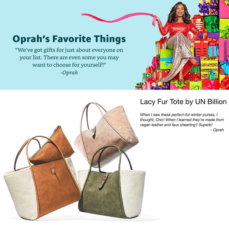 Un Billion Lacy Fur Bag in Oprah's Favorite Things 2018