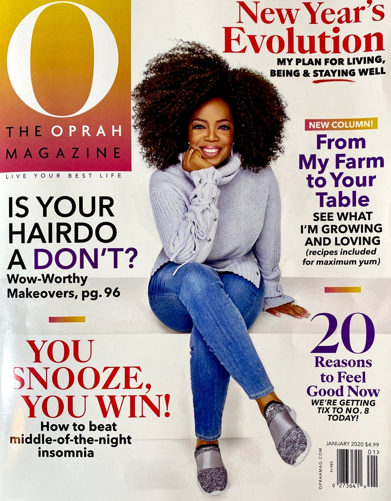 Oprah loves our Valeria tote bags!