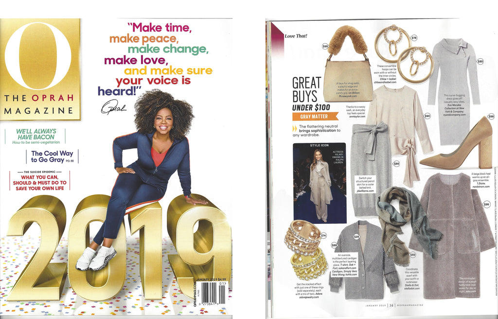 Oprah loves our Isabella Bags!