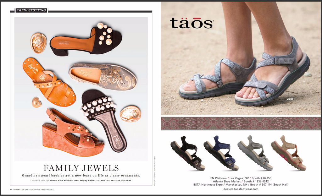 FFC New York featured in FootWear Plus Magazine