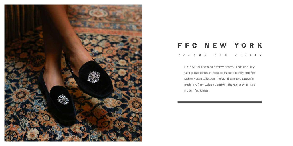 FFC New York CINDY black jeweled crushed velvet loafer