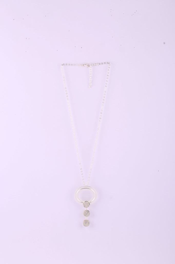 Three Tiered Drop Necklace