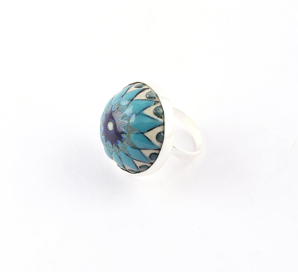Patterned Ceramic Ring