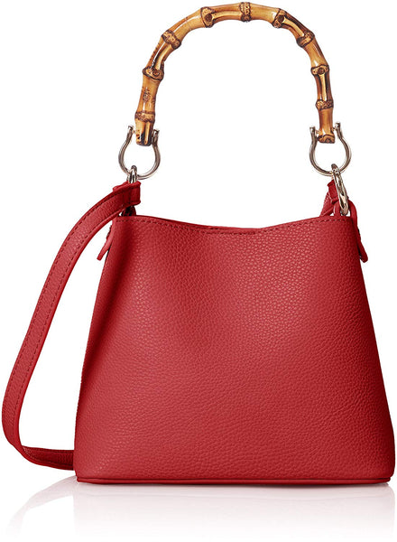 POPPY Bamboo Handle Mini Crossbody