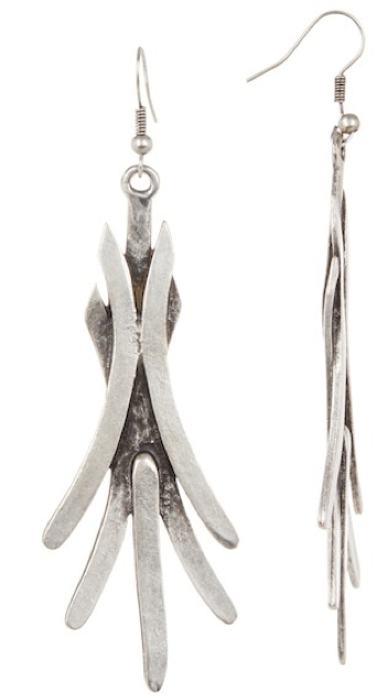 Pewter Spike Earrings