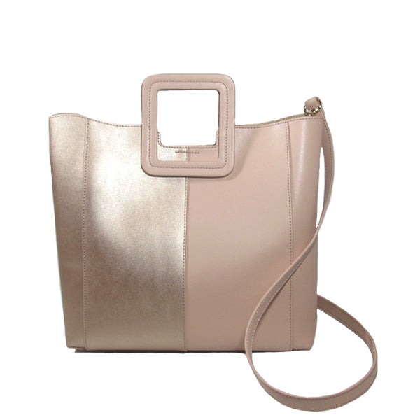 ANTONIO BLOCK MEDIUM NATURAL/ROSE GOLD