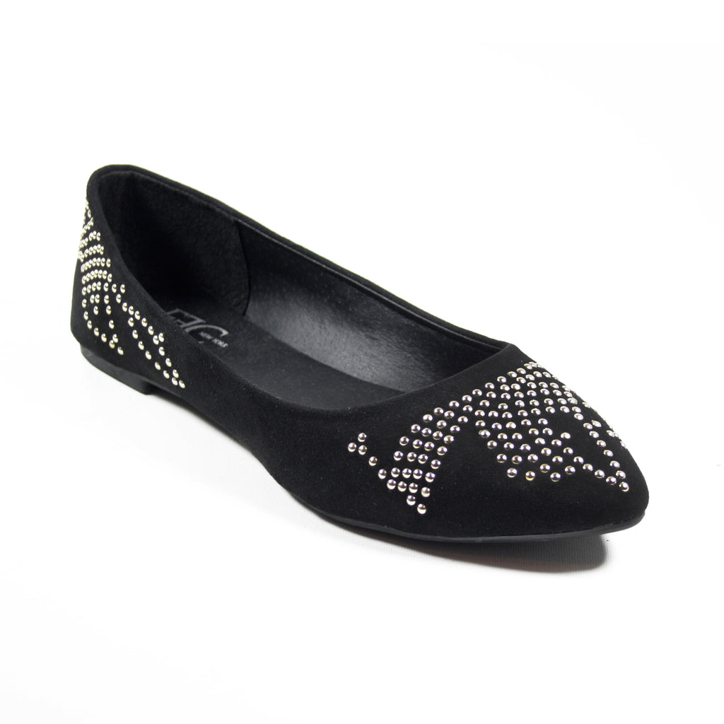 BETTY Studded Flats