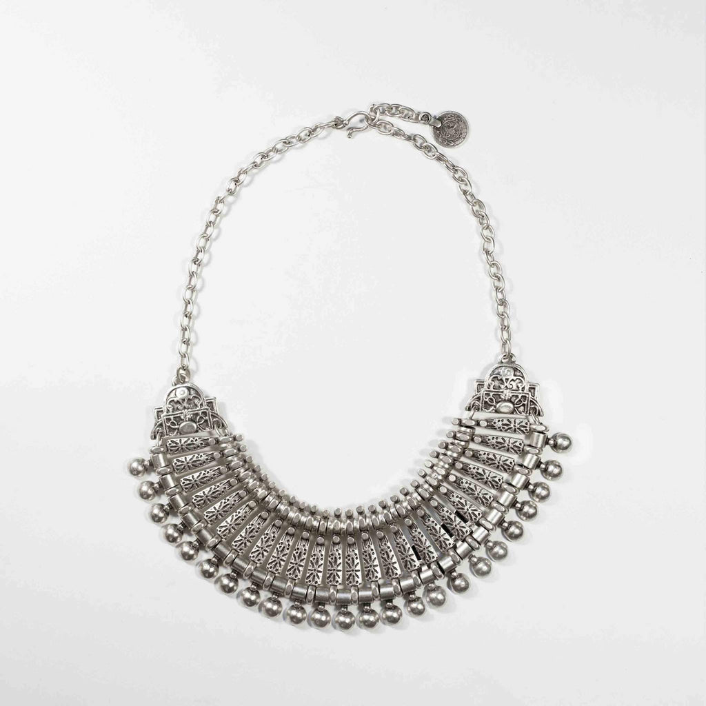 Pewter Egyptian Necklace