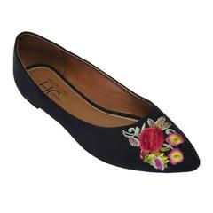 ANDRA Embroidered Flats