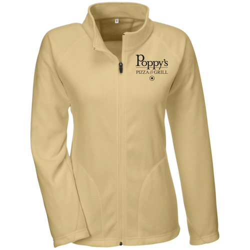 Poppy's Pizza & Grill Ladies' Microfleece Jacket - Vegas Gold