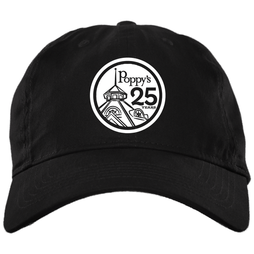 Poppy's Special Edition 25th Anniversary Dad Cap - Black