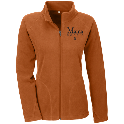 Mama Rose's Ladies' Microfleece Jacket - Burnt Orange