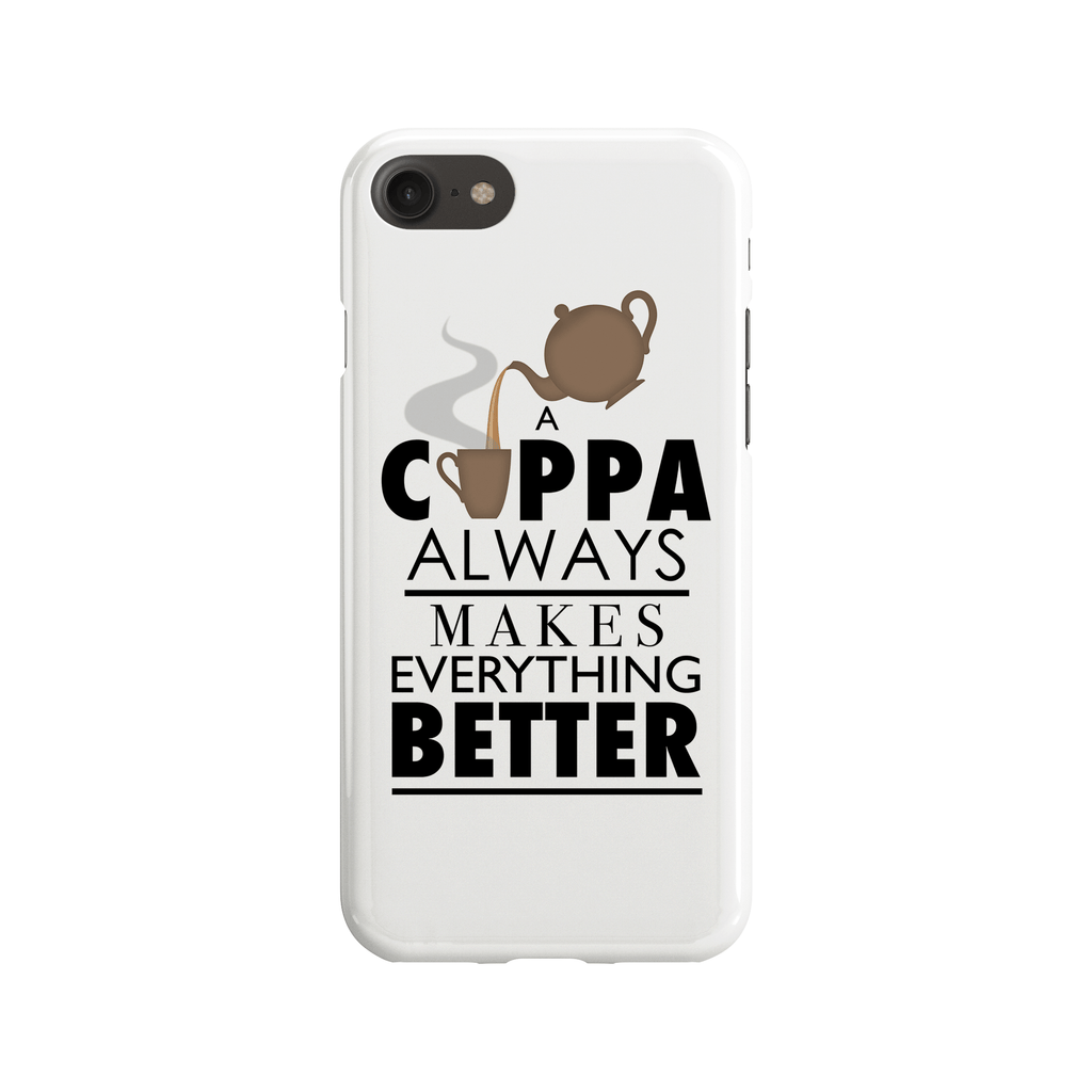 Cuppa Makes Everything Phone Case