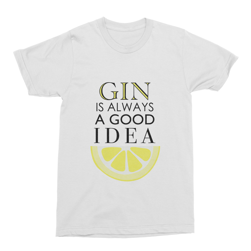 Gin Is Always a Good Idea Men's T-Shirt-Curartee