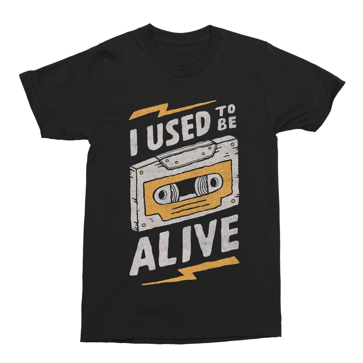 Alive Men's T-Shirt-Curartee
