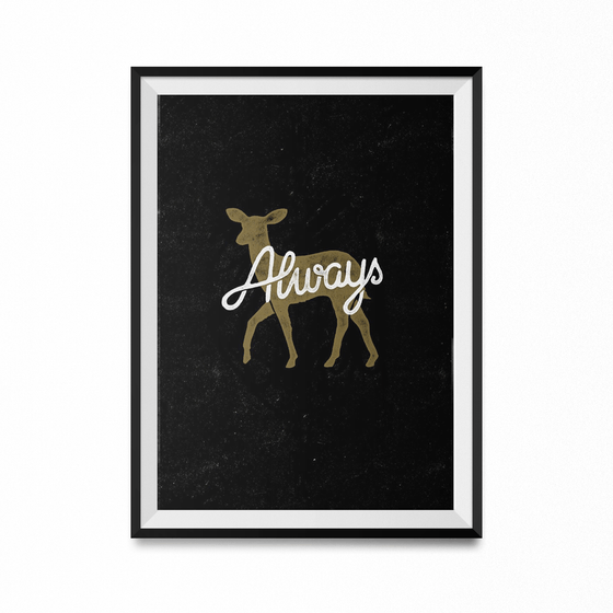 Always Art Print-Curartee