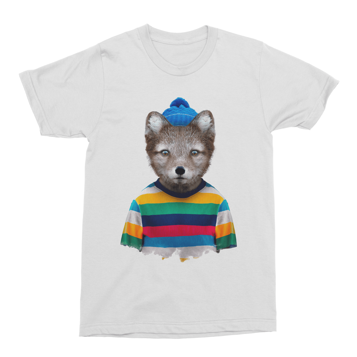 Arctic Fox Men's T-Shirt - Premium Artwear Curartee